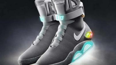Nike Unwraps New Self-Tying Shoe