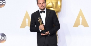 Pakistani tax official celebrates DiCaprio Oscar win
