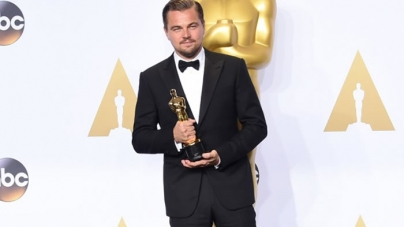 Pakistani tax official celebrates DiCaprio Oscar win