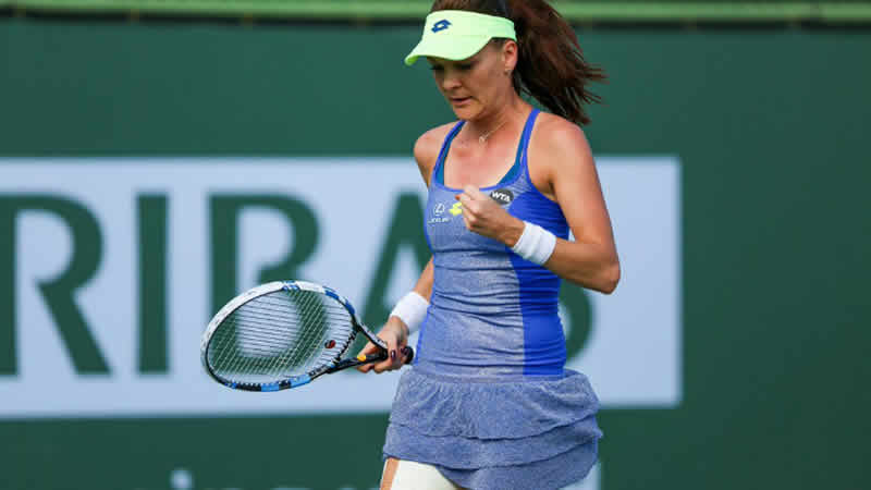 Radwanska reaches last four at Indian Wells