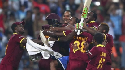 Brathwaite Heroics, Samuels' Nerve Drives West Indies To World T20 Glory