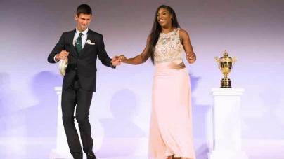 Djokovic And Williams In Laureus Double For Tennis