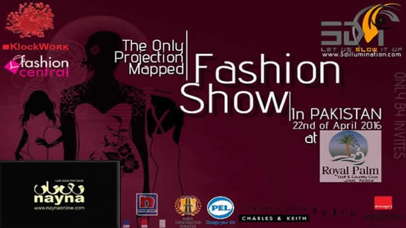 Fashion Show Nayna 2016 3D Projection Mapping