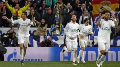 Football Ronaldo Hat-Trick Fires Real Madrid InTo Semis