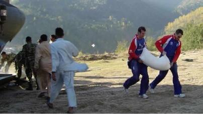 International Cricketers Enjoying Their Stay In Pakistan