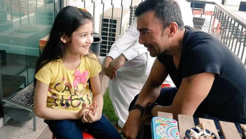 Shaan Shahid & Harshali Malhotra shoot for a project in Thailand