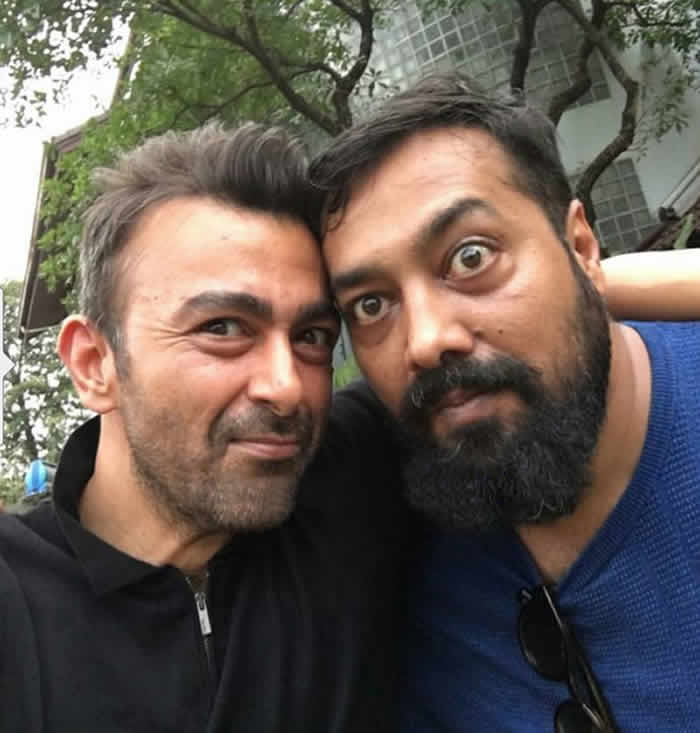 Shaan Shahid and Anurag Kashyap