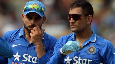Dhoni In The Time Of  Virat Kohli