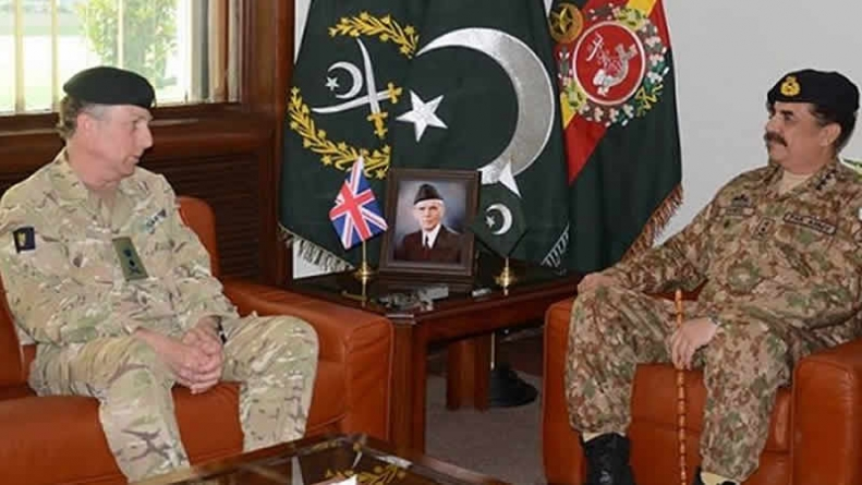 UK's Chief Of General Staff Meets COAS At GHQ