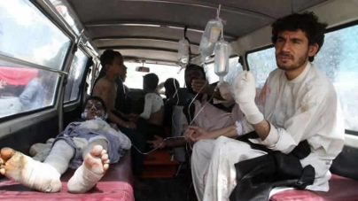 Afghan Road Crash Inferno Leaves At Least 73 Dead