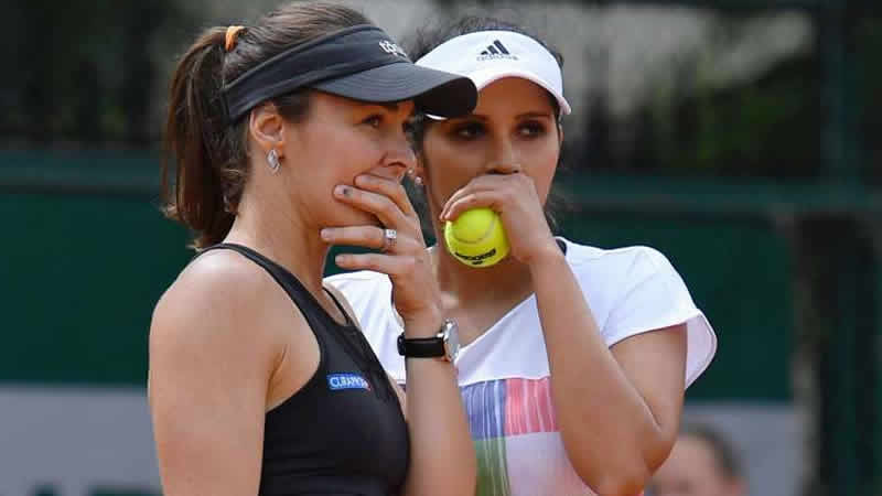 Hingis and Mirza