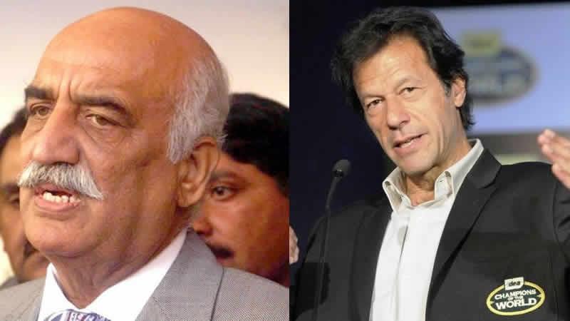 Khursheed Shah, Imran Khan