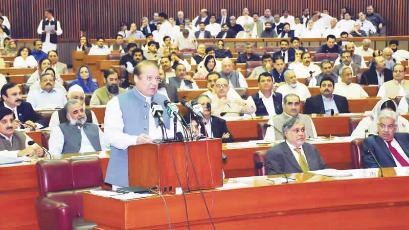 Minister Nawaz Sharif,