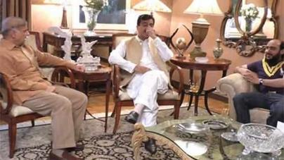 Punjab CM Greets Yousaf Raza Gillani Over Son's Recovery