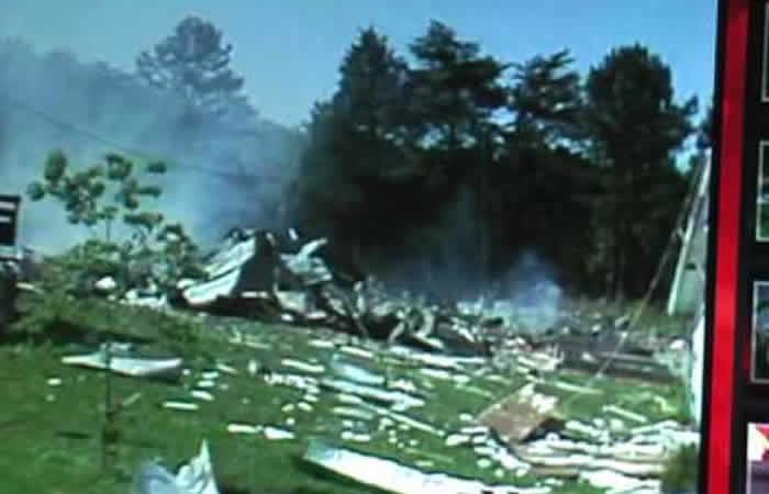 Benton fireworks disaster (1983)