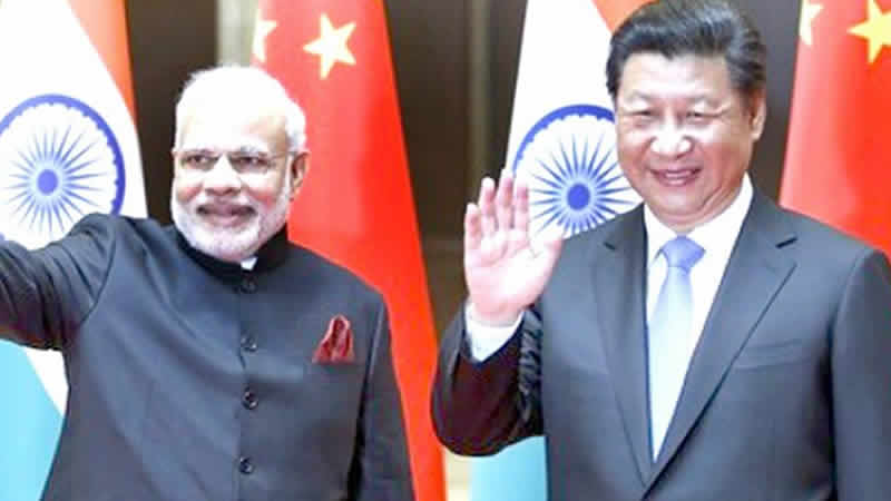 China strongly resists India's