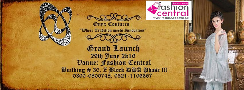 Launch Of Onyx Couture At FC Multi Brand Store DHA