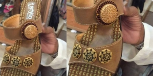 Maryam Nawaz takes notice of alleged use of Hindu holy word on shoes