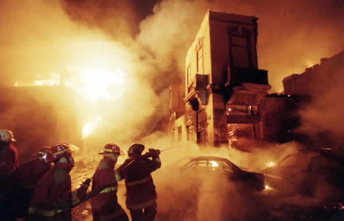 Mesa Redonda Fire (2001)
