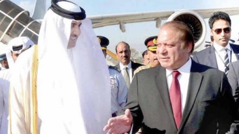 Qatar Emir Conveys Good Wishes For PM Sharif