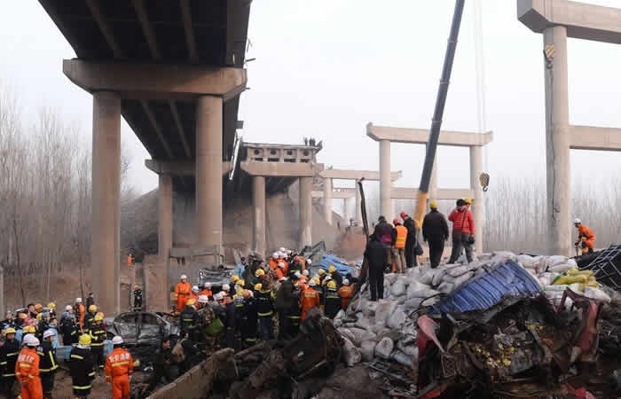 Truck Explosion China (2013)