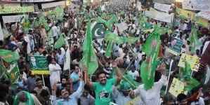 PMLN Clean Sweeps With 80% Seats In AJK Elections