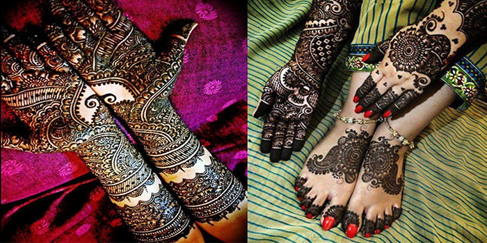 Imperial Design Mehndi