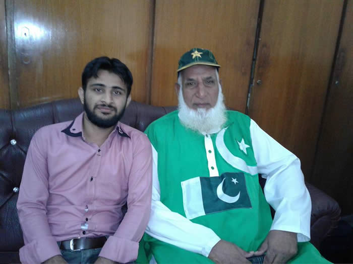 Khuram Sony With Chacha Cricket