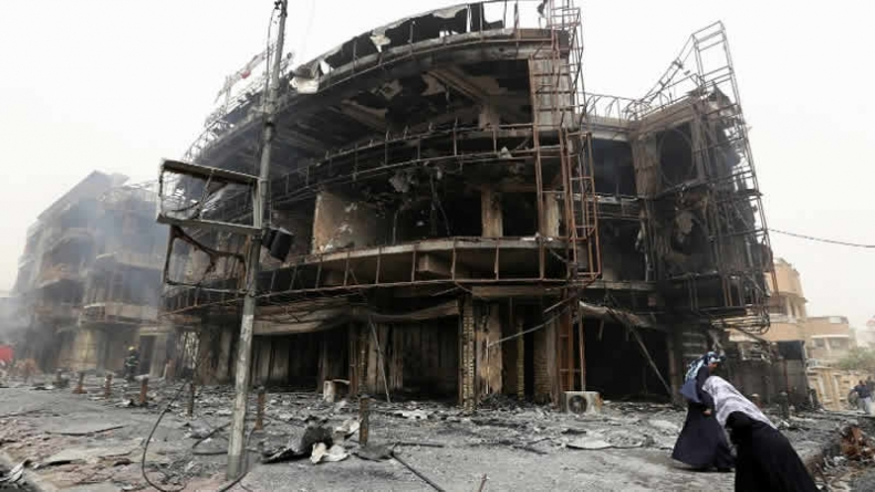 Nearly 120 killed In Overnight Baghdad Bombings Claimed By Daesh