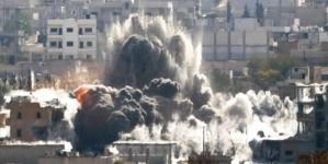 US Led Strikes kill 56 Civilians In Syria Monitor