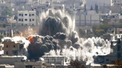 US Led Strikes kill 56 Civilians In Syria Monitor