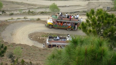 18 Dead in AJK Wedding Party Bus Accident