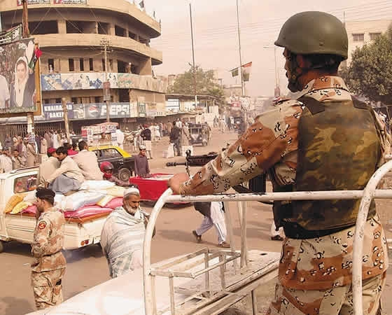 COAS Sharif Telephones DG Rangers Sindh Over Karachi Unrest