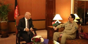 COAS Calls Afghan President Condemns American University Attack