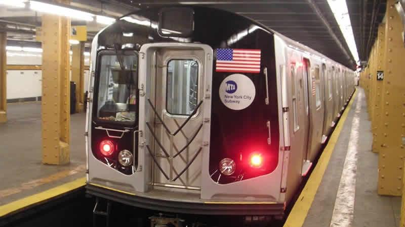 NY subway train