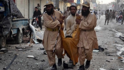QUETTA 14 Injured In Bomb Attack On Sharia Court  Judge Convoy