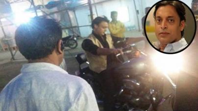 Shoaib Akhtar Injured During The Shoot Of 'Mazaak Mazaak Mein'
