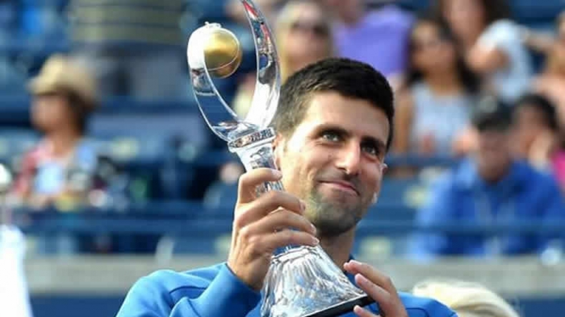 Tennis Djokovic Beats Nishkori To Claim Toronto Title