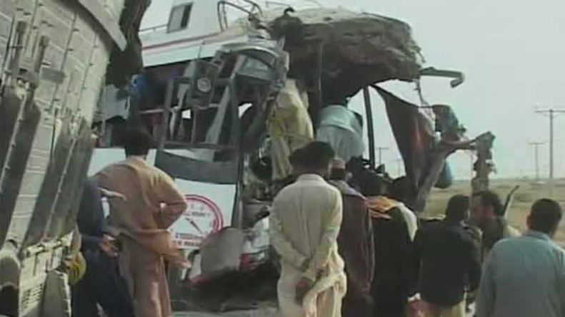 Two Children Among 11 killed 24 Injured In Jamshoro Road Accident