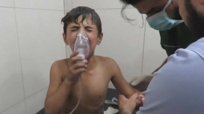 Aleppo Syrian Forces Blamed For Chlorine Gas Attack