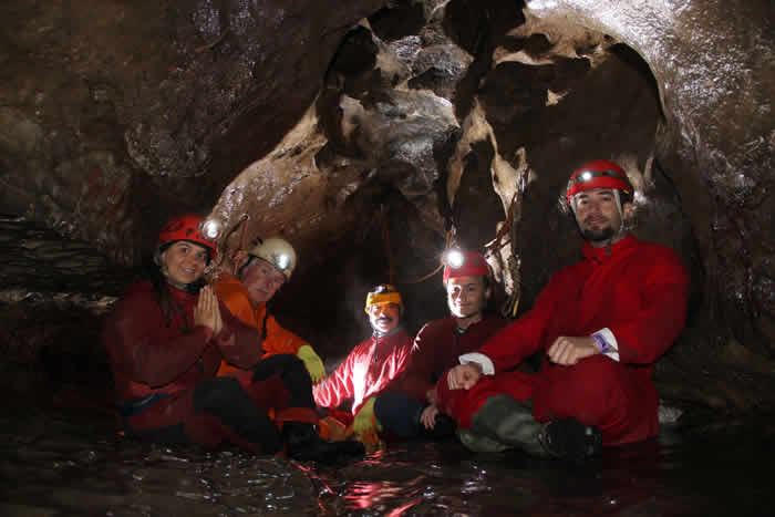 Caving and Cave Photography Hayat Durrani with Simon james Brooks Yorkshire