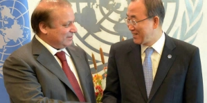 PM Nawaz Meets Iranian President And Ban Ki-Moon Discusses Kashmir Issue