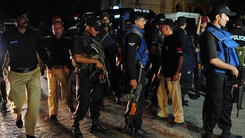 Karachi 7 terrorists
