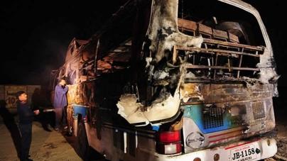 Karachi: Driver killed, Five Children Hurt In Crash Involving Bus, School Van