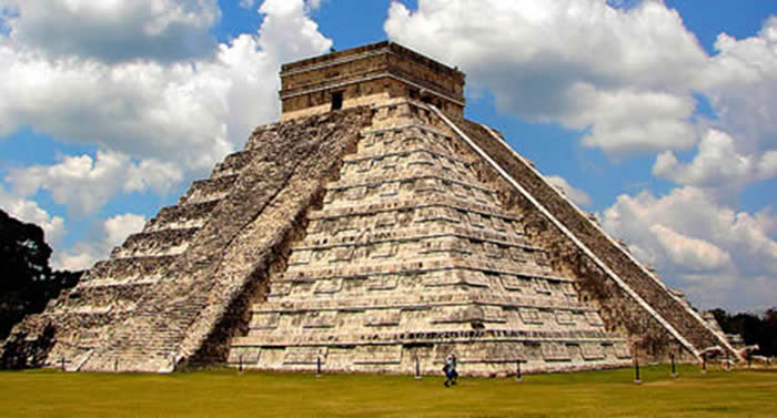 Pyramid At Chechen Itza