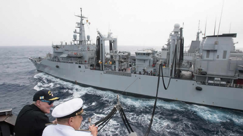 US: Navy Ship Targeted In Missile Attack From Yemen