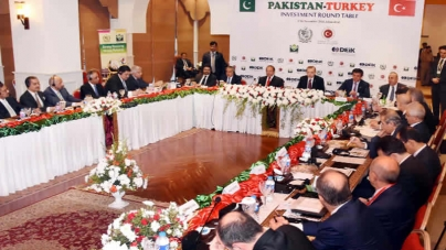 Erdogan Urges Turkish Businessmen To Invest In CPEC Projects