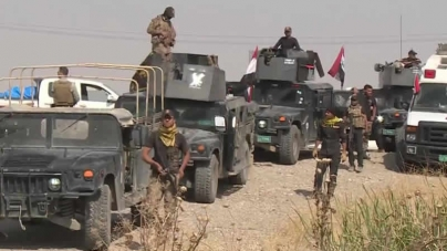 Iraqi Forces Advance To Eastern Edge Of Mosul