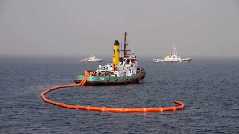 Pakistan Navy's , Marine Oil Spill Exercise Concludes