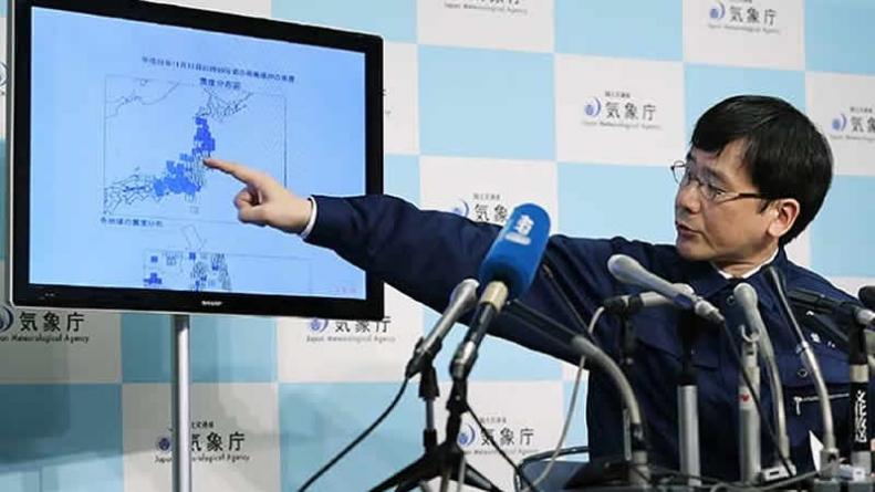 Strong Earthquake Hits Japan, Triggers Fukushima Tsunami